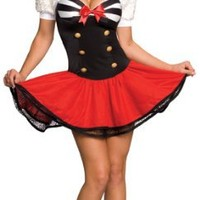 Secret Wishes Naval Pin Up Costume