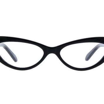 Black Cat-Eye Eyeglasses #483921 | Zenni Optical Eyeglasses