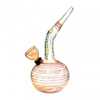 "6"" Assorted Color Bottom Water Pipe"