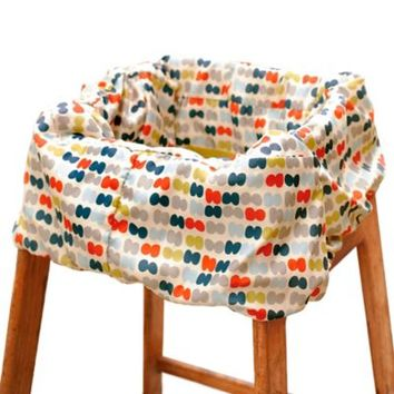 Skip Hop® Take Cover Shopping Cart and High Chair Cover in Dots