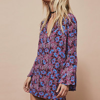 Free People Magic Mystery Printed Tunic | Sangria