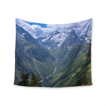 """Mountain Top"" Top Of The World Wall Tapestry"