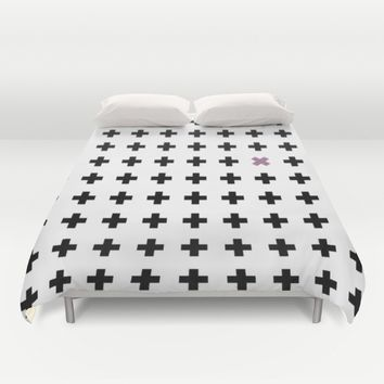 Crosswise Duvet Cover by Xiari
