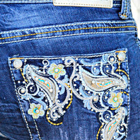 GRACE IN L.A. ENCHANTED FLOWER EASY CAPRIS