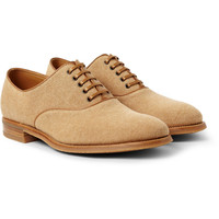John Lobb - Savannah Canvas Oxford Shoes | MR PORTER