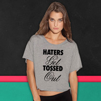 Haters Get Tossed Outd boxy tee