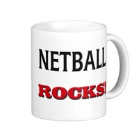 Netball Rocks Coffee Mug