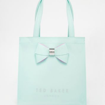 Ted Baker Small Icon Bag In Mint at asos.com