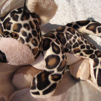 GIRAFFE BEAR TOY, stuffed animal giraffe teddy toy, stuffed bear giraffe design, unique giraffe bear baby shower, handmade bear giraffe