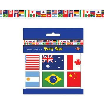 International Flag Picks asstd designs    50Pkg
