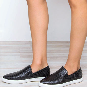 Best Boyfriend Loafers - Black