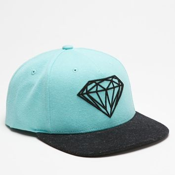Diamond Supply Co Premium Brilliant Snapback Hat - Mens Backpack - Blue - One