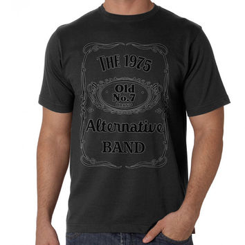 the 1975 band jack daniels Tshirt Size S,M,L,XL,XXL