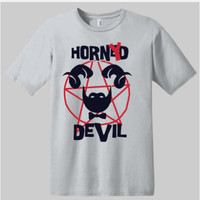Horney Devil T-shirt | Graphic Tees | Unisex T-shirts | Funny Saying On T-shirts | Novelty T-shirts | Devil T-shirts