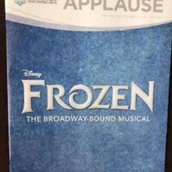 Disney's Frozen  World Premiere Broadway Musical - Denver Program