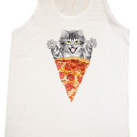 Pizza Cat Tank