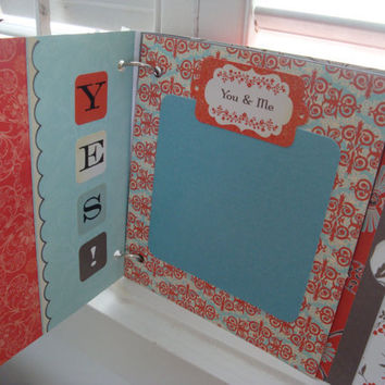Promise Scrapbook for Engagement Wedding Anniversary by srbythesea