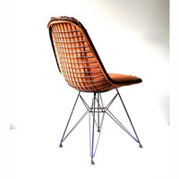 1954 Iconic Herman Miller Bent Metal Eiffel Tower Chair by Ray and Charles Eames