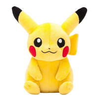 Pokemon Center Original Plush Doll : Pikachu [Sitting Ver.]