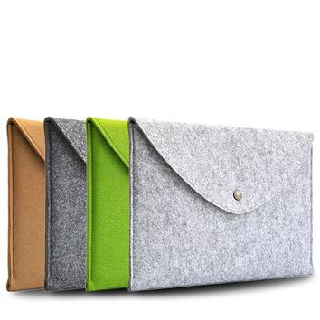 Macbook 13 inch Woolen Felt Laptop Cover Case