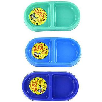 Double-Sided Cat Bowl ( Case of 48 )