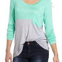 Duo Colorblocked Top - Anthropologie.com