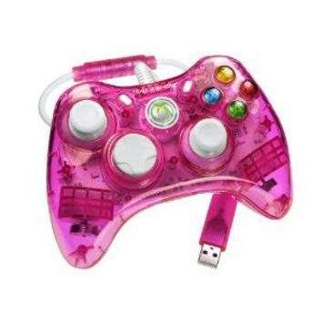 Rock Candy Controller - Pink (Microsoft Licensed) (Xbox 360): Amazon.co.uk: PC & Video Games