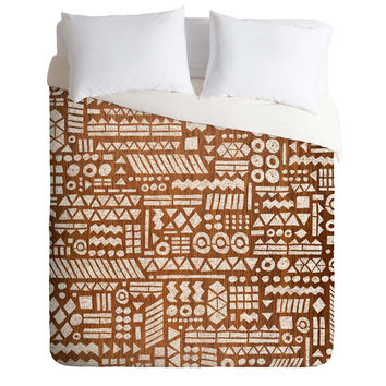 Nick Nelson Northwoods Pattern Duvet Cover