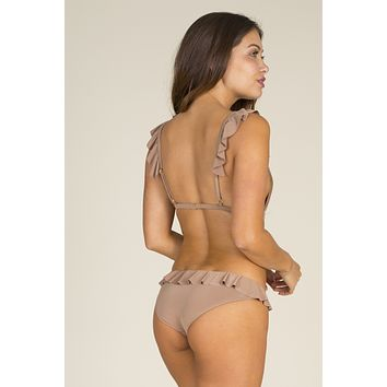 Bettinis - Ruffle Bottom | Nude