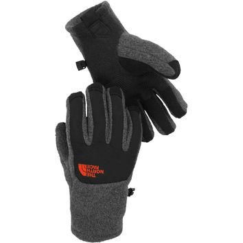 The North Face Boy's Denali Etip Glove Charcoal Heather