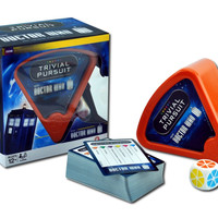 Doctor Who Travel Trivial Pursuit