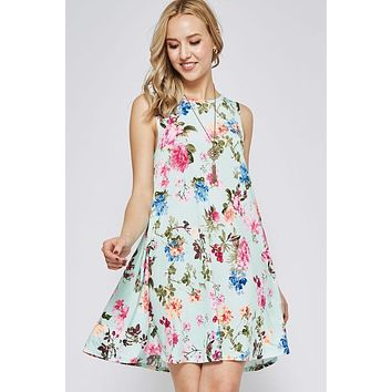 Swing into Summer Mint Dress
