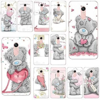 Hot Sale Teddy Me To You Bear style For Xiaomi Redmi Mi Note 4X 2 3 3S 4A 5 6 5S 5X 5A 6X Pro Plus Shell Soft TPU Phone Cases