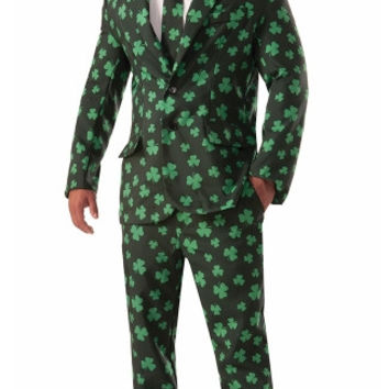 Mens Shamrock Suit Costume