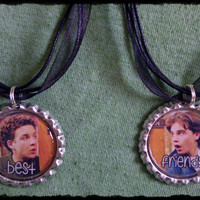 Boy Meets World Best Friend Bottlecap Necklace Set of 2