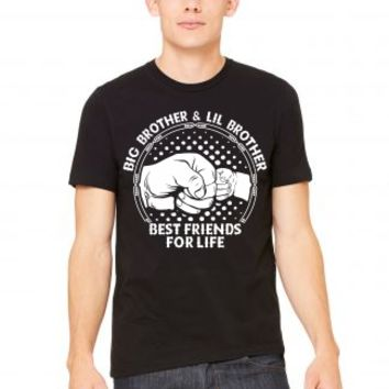 Big Brother And Lil Brother Best Friends For Life T-Shirt