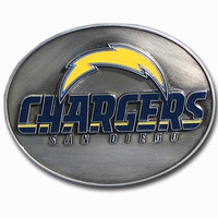 San Diego Chargers NFL Enameled Belt Buckle