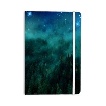 "888 Design ""Forest Night"" Green Digital Everything Notebook"