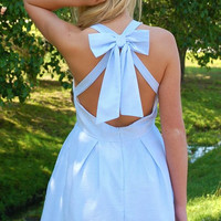 Hamptons Summer Dress- Blue