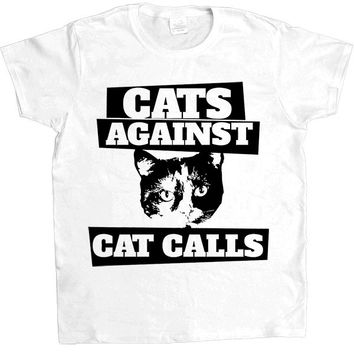 Cats Against Catcalls #3 -- Women's T-Shirt