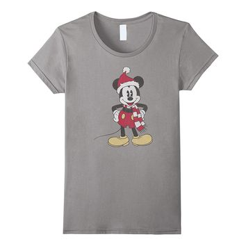 Disney Mickey Mouse Christmas T Shirt