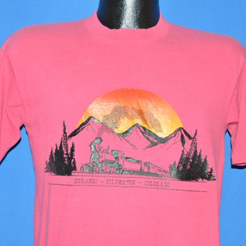 80s Durango Silverton Colorado Railroad t-shirt Medium