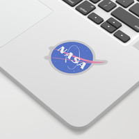 Pastel Nasa Logo Sticker by software