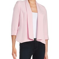 Princess-Seamed Crepe Blazer | Lord and Taylor