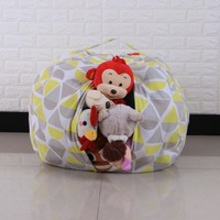 Kids Bean Bag Toy Storage Organizer