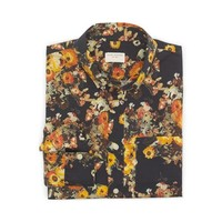 Slim-Fit Large Floral Shirt