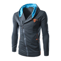 Hot Sale Slim Hoodies Hats Men Mosaic Jacket [6528676163]