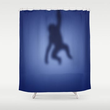 Monkey Shower Curtain by steveball