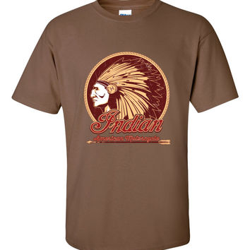 Indian Motorcycle Chief Short Sleeve T-Shirt up to 5XL