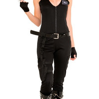 Sexy SWAT Babe Costume